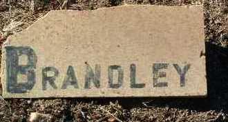 BRANDLEY, UNKNOWN - Yavapai County, Arizona   UNKNOWN BRANDLEY - Arizona Gravestone Photos