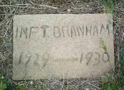 BRANHAM, INFANT - Yavapai County, Arizona   INFANT BRANHAM - Arizona Gravestone Photos