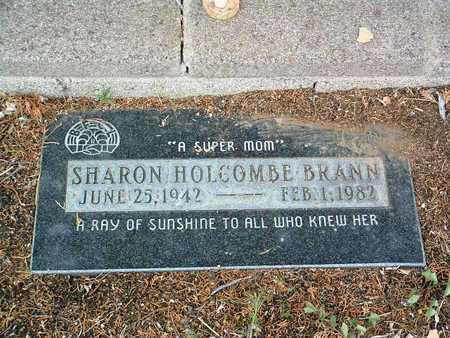 HOLCOMBE BRANN, SHARON - Yavapai County, Arizona | SHARON HOLCOMBE BRANN - Arizona Gravestone Photos