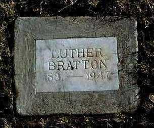 BRATTON, LUTHER - Yavapai County, Arizona | LUTHER BRATTON - Arizona Gravestone Photos
