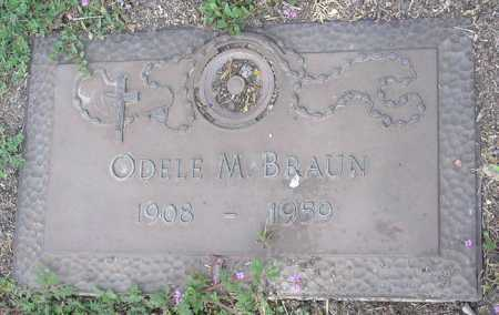 BRAUN, ODELE M. - Yavapai County, Arizona   ODELE M. BRAUN - Arizona Gravestone Photos