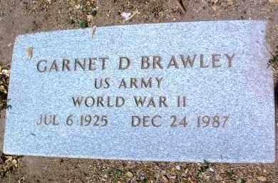 BRAWLEY, GARNET DWAYNE - Yavapai County, Arizona   GARNET DWAYNE BRAWLEY - Arizona Gravestone Photos