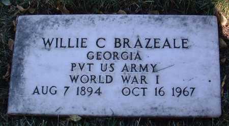 BRAZEALE, WILLIE C. - Yavapai County, Arizona   WILLIE C. BRAZEALE - Arizona Gravestone Photos