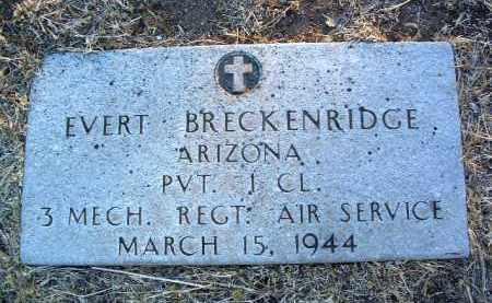 BRECKENRIDGE, EVERT - Yavapai County, Arizona | EVERT BRECKENRIDGE - Arizona Gravestone Photos