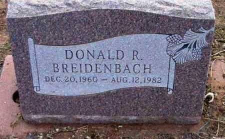 BREIDENBACH, DONALD R. - Yavapai County, Arizona | DONALD R. BREIDENBACH - Arizona Gravestone Photos