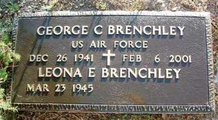 BRENCHLEY, GEORGE CHARLES - Yavapai County, Arizona | GEORGE CHARLES BRENCHLEY - Arizona Gravestone Photos