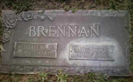 BRENNAN, MAE BETH - Yavapai County, Arizona | MAE BETH BRENNAN - Arizona Gravestone Photos