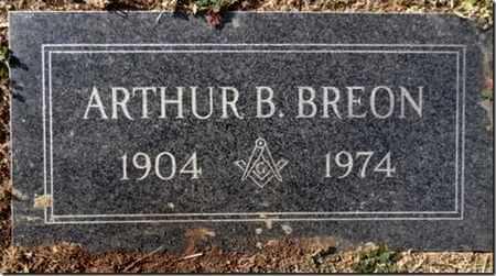 BREON, ARTHUR B. (JOHN) - Yavapai County, Arizona | ARTHUR B. (JOHN) BREON - Arizona Gravestone Photos