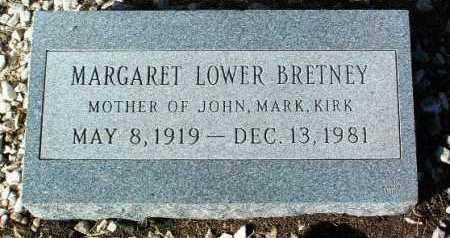 BRETNEY, MARGARET - Yavapai County, Arizona   MARGARET BRETNEY - Arizona Gravestone Photos