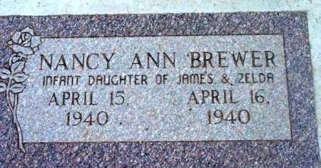BREWER, NANCY ANN - Yavapai County, Arizona | NANCY ANN BREWER - Arizona Gravestone Photos