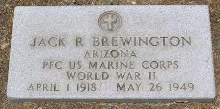 BREWINGTON, JACK RICHARD - Yavapai County, Arizona | JACK RICHARD BREWINGTON - Arizona Gravestone Photos