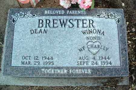 BREWSTER, WINONA LEE - Yavapai County, Arizona | WINONA LEE BREWSTER - Arizona Gravestone Photos