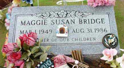 BRIDGE, MARGARET SUSAN - Yavapai County, Arizona | MARGARET SUSAN BRIDGE - Arizona Gravestone Photos