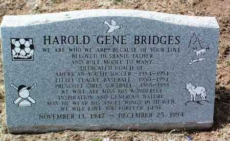 BRIDGES, HAROLD EUGENE - Yavapai County, Arizona | HAROLD EUGENE BRIDGES - Arizona Gravestone Photos