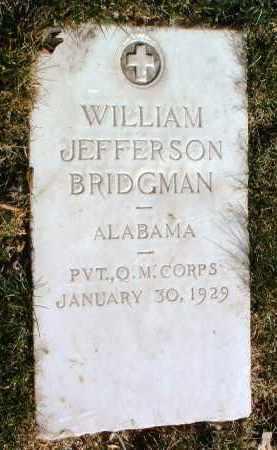 BRIDGMAN, WILLIAM J. - Yavapai County, Arizona   WILLIAM J. BRIDGMAN - Arizona Gravestone Photos
