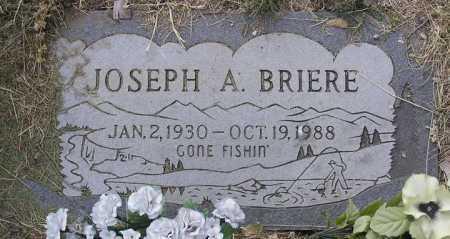 BRIERE, JOSEPH ADELARD - Yavapai County, Arizona | JOSEPH ADELARD BRIERE - Arizona Gravestone Photos