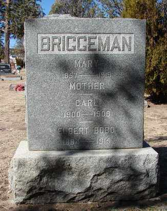 BRIGGEMAN, CARL - Yavapai County, Arizona | CARL BRIGGEMAN - Arizona Gravestone Photos