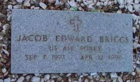 BRIGGS, JACOB EDWARD - Yavapai County, Arizona | JACOB EDWARD BRIGGS - Arizona Gravestone Photos