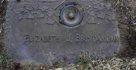 BRINDAMOUR, ELIZABETH J - Yavapai County, Arizona | ELIZABETH J BRINDAMOUR - Arizona Gravestone Photos