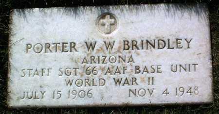 BRINDLEY, PORTER WILSON W. - Yavapai County, Arizona | PORTER WILSON W. BRINDLEY - Arizona Gravestone Photos
