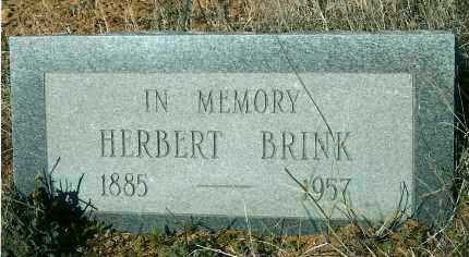BRINK, HERBERT (BUNTY) - Yavapai County, Arizona | HERBERT (BUNTY) BRINK - Arizona Gravestone Photos