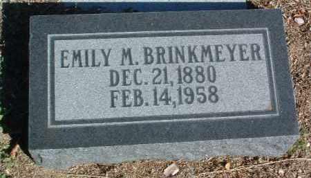 BRINKMEYER, EMILY M. - Yavapai County, Arizona | EMILY M. BRINKMEYER - Arizona Gravestone Photos