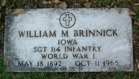 BRINNICK, WILLIAM M. - Yavapai County, Arizona | WILLIAM M. BRINNICK - Arizona Gravestone Photos