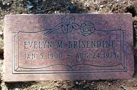 BRISENDINE, EVELYN M. - Yavapai County, Arizona | EVELYN M. BRISENDINE - Arizona Gravestone Photos