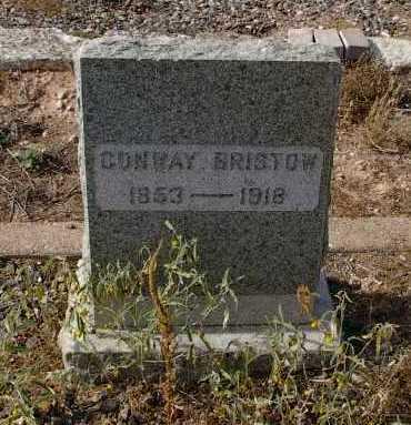 BRISTOW, CONWAY - Yavapai County, Arizona   CONWAY BRISTOW - Arizona Gravestone Photos