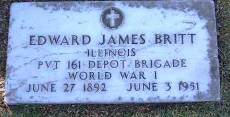 BRITT, EDWARD JAMES - Yavapai County, Arizona | EDWARD JAMES BRITT - Arizona Gravestone Photos