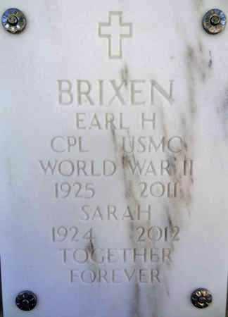 BRIXEN, EARL HARRY - Yavapai County, Arizona | EARL HARRY BRIXEN - Arizona Gravestone Photos