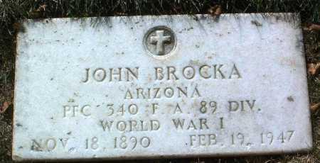 BROCKA, JOHN - Yavapai County, Arizona | JOHN BROCKA - Arizona Gravestone Photos