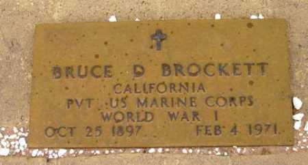 BROCKETT, BRUCE DOUGLAS - Yavapai County, Arizona   BRUCE DOUGLAS BROCKETT - Arizona Gravestone Photos