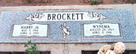 BROCKETT, HARRY H., JR. - Yavapai County, Arizona   HARRY H., JR. BROCKETT - Arizona Gravestone Photos