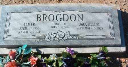 BROGDON, ELMER - Yavapai County, Arizona   ELMER BROGDON - Arizona Gravestone Photos