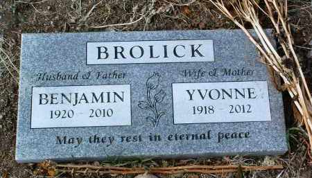 BROLICK, BENJAMIN ANTHONY - Yavapai County, Arizona | BENJAMIN ANTHONY BROLICK - Arizona Gravestone Photos