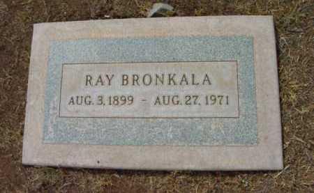 BRONKALA, RAY IRWIN - Yavapai County, Arizona | RAY IRWIN BRONKALA - Arizona Gravestone Photos