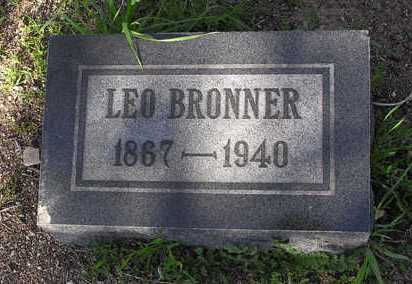 BRONNER, LEO - Yavapai County, Arizona | LEO BRONNER - Arizona Gravestone Photos