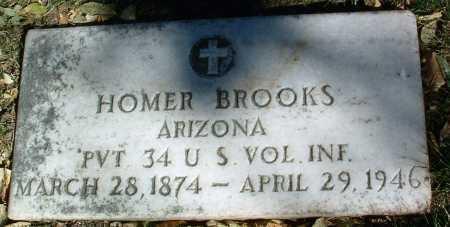 BROOKS, HOMER LEWIS - Yavapai County, Arizona   HOMER LEWIS BROOKS - Arizona Gravestone Photos