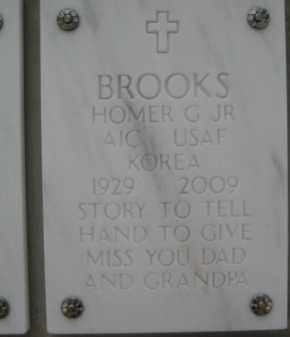 BROOKS, HOMER G., JR. - Yavapai County, Arizona | HOMER G., JR. BROOKS - Arizona Gravestone Photos