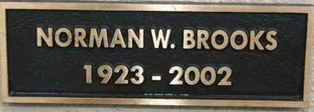 BROOKS, NORMAN WESLEY - Yavapai County, Arizona | NORMAN WESLEY BROOKS - Arizona Gravestone Photos
