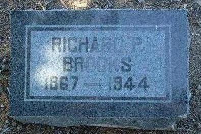 BROOKS, RICHARD P. - Yavapai County, Arizona | RICHARD P. BROOKS - Arizona Gravestone Photos