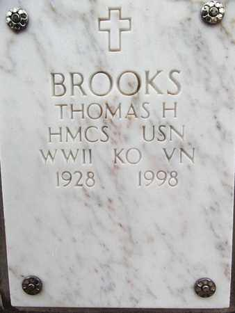 BROOKS, THOMAS HOUSTON - Yavapai County, Arizona | THOMAS HOUSTON BROOKS - Arizona Gravestone Photos