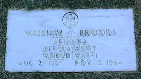BROOKS, WILLIAM T. - Yavapai County, Arizona | WILLIAM T. BROOKS - Arizona Gravestone Photos