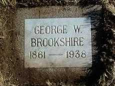 BROOKSHIRE, GEORGE WILLIAM - Yavapai County, Arizona | GEORGE WILLIAM BROOKSHIRE - Arizona Gravestone Photos