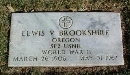 BROOKSHIRE, LEWIS V. - Yavapai County, Arizona | LEWIS V. BROOKSHIRE - Arizona Gravestone Photos