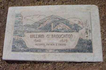 BROUGHTON, WILLIAM GLENN - Yavapai County, Arizona | WILLIAM GLENN BROUGHTON - Arizona Gravestone Photos