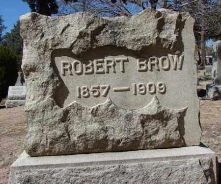 BROW, ROBERT - Yavapai County, Arizona   ROBERT BROW - Arizona Gravestone Photos
