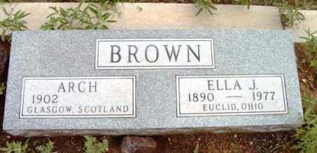 BROWN, ARCHIE - Yavapai County, Arizona | ARCHIE BROWN - Arizona Gravestone Photos