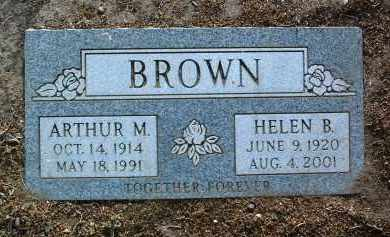 BROWN, ARTHUR MARCUS - Yavapai County, Arizona | ARTHUR MARCUS BROWN - Arizona Gravestone Photos